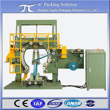 Copper wirel coil wrapping machine GS300, Exterior pipe coil stretch wrapping machine, Electric cable coil packing machine