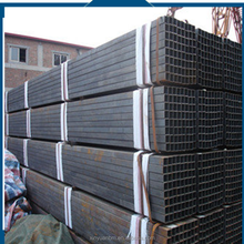 Alibaba China supplier construction and building black rectangular steel pipe
