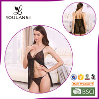 Custom Seductive Clear Hot Sexy Mature Young Ladies Sexy Lingerie
