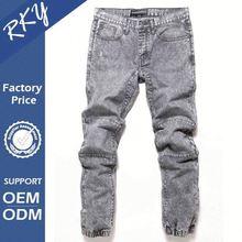 Latest Fashionable Design Eco-Friendly Grey Jeans