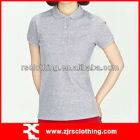 Womens High Quality Cotton and Spandex Polo Shirt