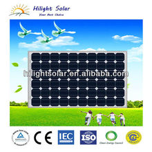 140W mono solar panel manufacturer