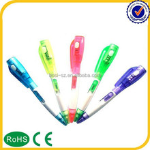 2015 China Factory custom logo projector pen