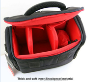 Classic Camera Case Bag With Strap for Canon
