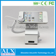 2012 new design Security Display Cell Phone Holder with alarm and charging function