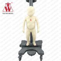 Specialized fiberglass european size infant full body mannequin