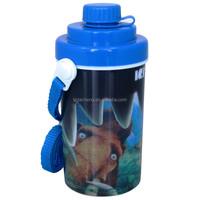 Customized Cartoon 3D Lenticular Plastic Bottle In Malaysia Johor