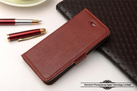 Pure color retro style leather cover case for iphone 5/5s