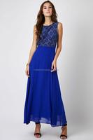 Blue Adora Maxi Dress