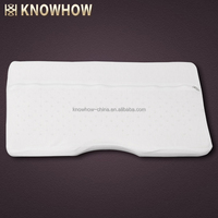 Breathable Natural Latex Butterfly Shape Pillow Removable Cover