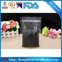 Whole grains plastic vacuum bag with zipper