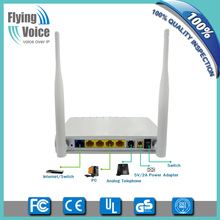 Flyingvoice VoIP wireless router,G729 Codec,T.38 real time FAX,OpenVPN support G801