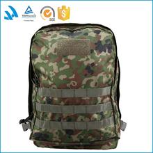 fashion Eco-friendly big capacity waterproof soft nylon camouflage day backpack