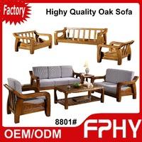 Manufacturer FPHY living room Furniture Solid wood sofa set pictures of sofa designs