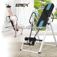 inverted exercise table for home use with feet safety device