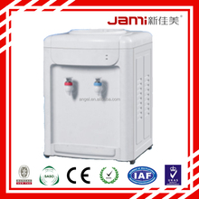 desktop OEM family glass water dispenser using gallon bottle water cooler hotcold drinking fountains compressor/electric cooling