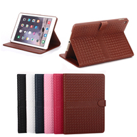 New Hot Selling High Quality Knitting Flip Case for iPad Mini 4, For iPad Mini 4 Flip Case