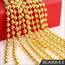 fábrica de dongguan de oro al por mayor collares largos