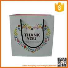 logo printed craft paper bag with handles