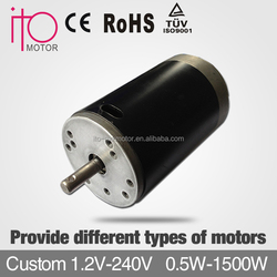 high voltage 180v low speed 2000rpm pmdc motors,brushless permanent magnet dc motor