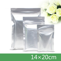 packaging bags dog food Food Foil storage bag silver packaging bag 9*14CM