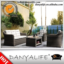DYSF-R24 Danyalife Deluxe Outdoor Living Collection All Weather Rattan Courtyard Furniture