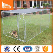US and Canada new design high quality iron fence dog kennel