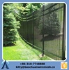 anping Slope terrain wrought iron fence black slope garden fence metal garden fence