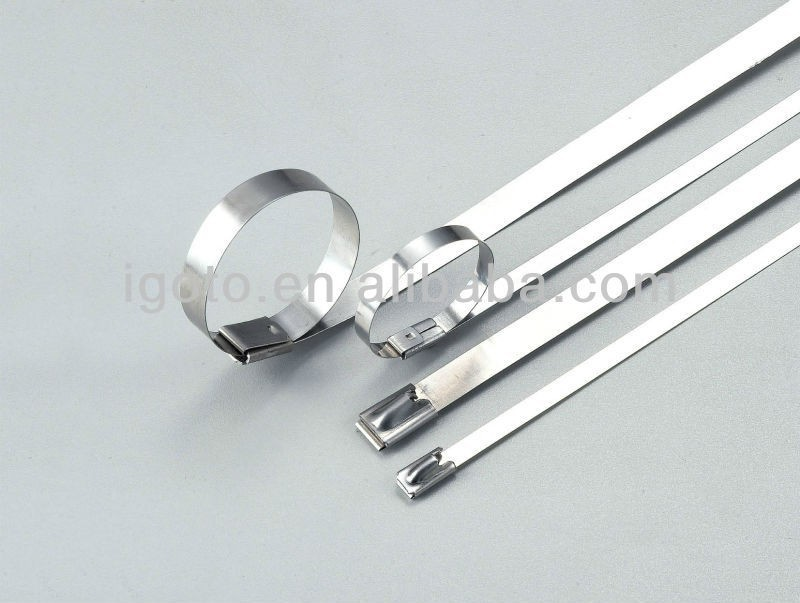 Stainless Steel Lock Wire : Igoto self locking stainless steel cable ties buy ball