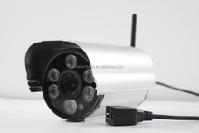 outdoor Waterproof &Vandal resist H.264 onvif 1080P ir day and night wifi 2p2 wireless 2mp ip camera