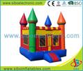 Venda quente baratos castelos insufláveis, pequenos brinquedos infláveis, frozen pulando do castelo para as crianças