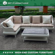 modern design outdoor plastic rattan sofa set furniture