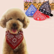 New Adjustable Pet Product Dog Cat Bandana Scarf Collar Neckerchief Pet Dog Grooming Accessories Wholesale in Chinese