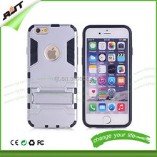Wholesale alibaba hot sale for iphone 6 hybird TPU+PC combo case 2 in 1 hard pc cell phone cover case for iphone 6