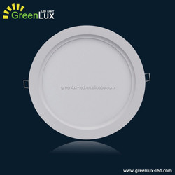 Circle suspended ceilings LED panel light Ultra Thin recessed mounted light