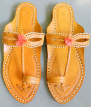 leather chappal for women
