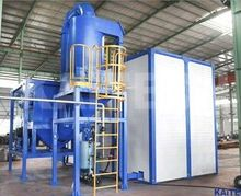 Sand blasting room/sand blast chamber with simple structure,short manufacturing time