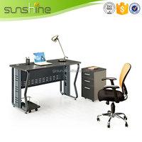 Hot Model Metal Table China Manufacturer Steel Frame High End MDF Office Furniture