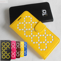 Inaly Diamond Skeleton Leather Phone Case for S3 S4 S5