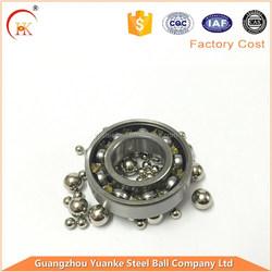 China Yuanke Long working life 18mm bearing steel balls G10--G200