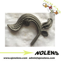 Ornamental Wrought Iron Cast Steel Rosettes/Flowers.Wrought Iron Craft Leaves,Metal Grape leaves