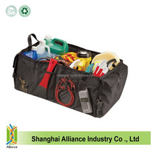 Foldable Multi Compartment Polyester Car Truck With Mesh Pockets For Tools