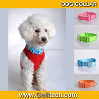Very high quality nylon belt buckle dog collar nylon dog collars wholesale dog collar bulk