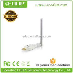 Strong signal reception 150M ralink MTK7601 wireless wifi usb adapter pc usb network card EP-MS150NW