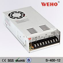 220v/110v ac to dc 400w 12v 33A led power supply