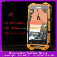 cdma 450 cell phones discovery V6 4 inch IPS screen IP68 waterproof dual sim mobiles cdma gsm android smart phone CDMA russian