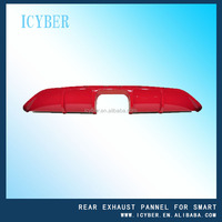 Rear exhaust pannel new type for Smart fortwo