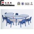 Usado pré-escolar mesas e cadeiras, usado mobiliário escolar mobiliário de jardim de infância