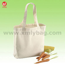 Fashion Blank Nature Recycled Cotton Canvas Tote Bags