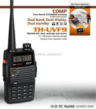 TYT TH-UVF9 walkie talkie phones dual band dual display dual standby 128*2 channels PTT ID/MSK/DTMF/VOX/TOT